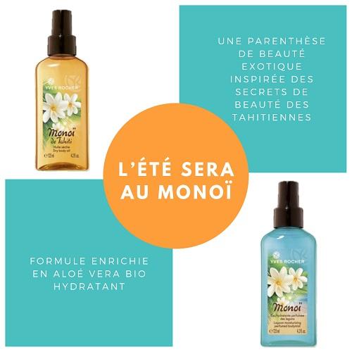 eau parfumee et huile monoi_yves rocher_lylliemusabrand